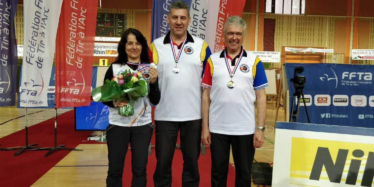 Nos médaillés au Cht France salle 2018