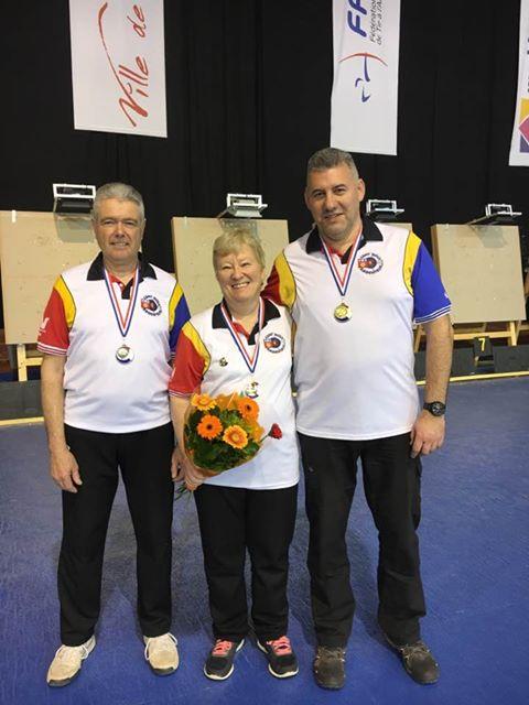 Nos trois médaillés